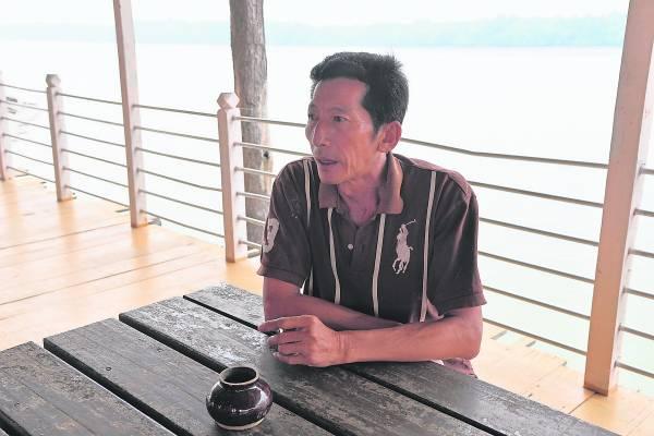 民宿负责人谢木财:我要将民宿营造出归属感, 让游客能入乡随俗。 吉胆渔家民宿钓鱼台 2A, Jalan Hujung, Bagan Teochew, 42940 Pulau Ketam, Selangor. 电话:012-9692140/010-6121111 面子书:www.facebook.com/p.ketam.fishing