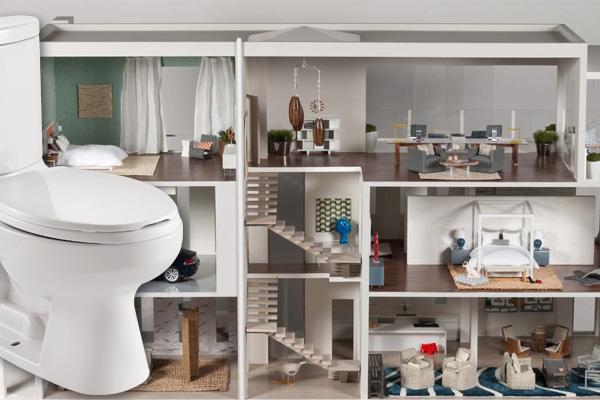 一间屋子不宜建太多浴厕,否则会破坏风水磁场,导致家人会体弱生病!