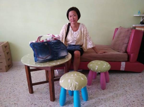 从小就在妈妈身边学习缝纫的Susan表示,要为家私换新衣裳是一件容易的事情。