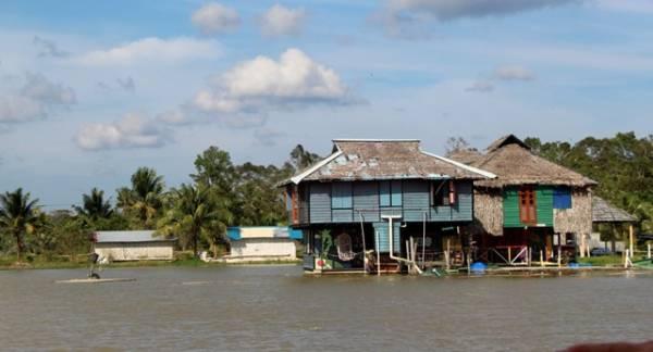 在农场内有各式各样的旅舍,供游客选择。