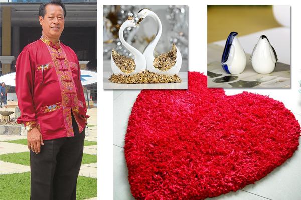 吴佰霖道长表示,找出自己的桃花位后摆放企鹅、天鹅或心形的装饰品,促进与爱人之间的感情。