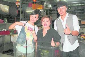 大马视帝谢佳见与DJ 陈诗莹。