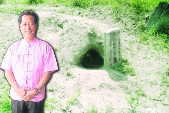 吴道长指出,白蚁穴也叫化骨穴,在阴宅风水学上属于大凶,会令后人轻则破财,重则损丁。