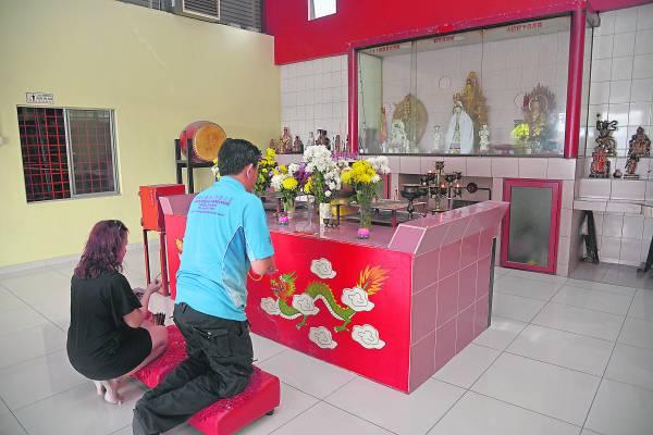 虽是间新村小庙,但供奉的观音菩萨神像,是村民的精神寄托。