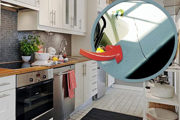 厨房灶头一定要完好,千万不能有裂痕,否则就会影响健康和财运。