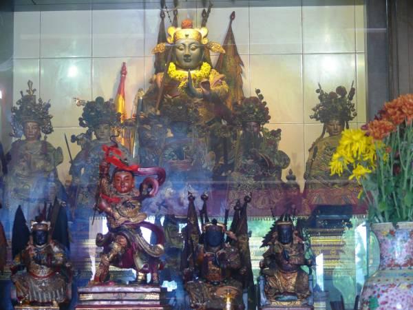 崇清宫在马六甲已有大半个世纪的历史,朱公元帅深获得生意人的青睐。