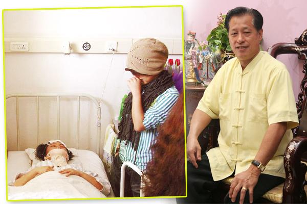 吴道长表示,家庭成员突然间接二连三受伤,可能是阴宅风水出了问题,最好找师父检查一下。
