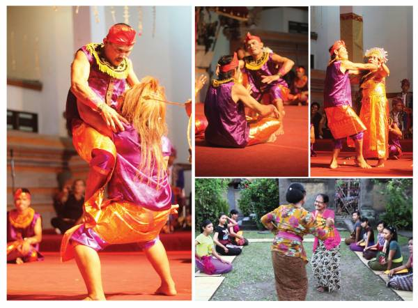 乡民自创的聋者舞蹈,成了小村的观光吸引点。