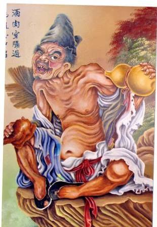 刘福所绘的佳作,栩栩如生……