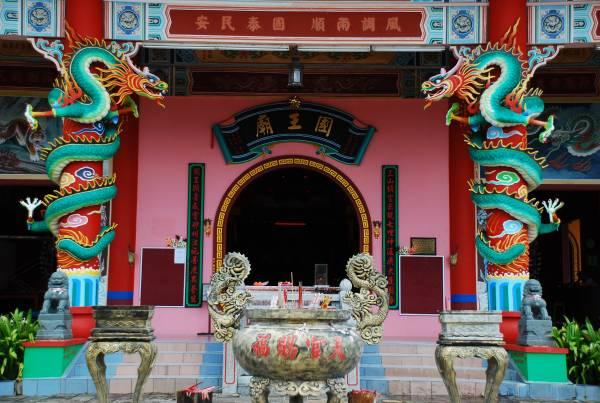刘福曾为逾百间庙宇绘制数以千计壁画。