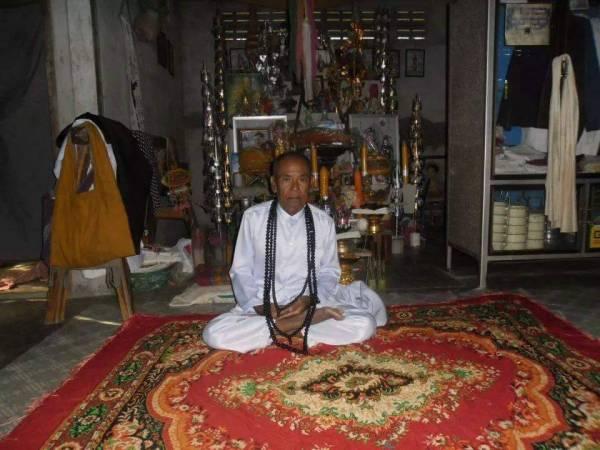 火眼奇僧的恩师柬埔寨高人 Arjan Pigun。