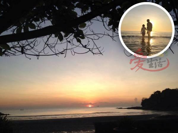 无论是日出还是夕阳,都会让游客惊叹一幅幅美景。