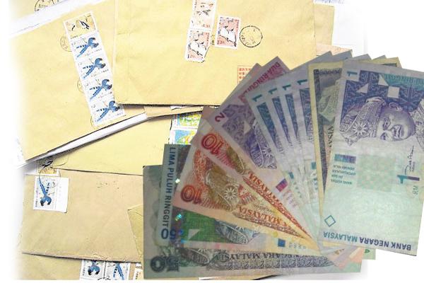 很多人以为将钱藏在信封内就会平安无事,但始终还是不安全。