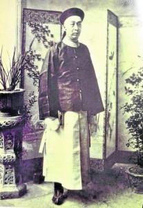 张弼士是这蓝色大屋的主人,自从他逝世后,后代就没有再住了。