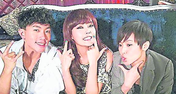 """与容祖儿的9 年""""恋情"""",因刘浩龙的介入终告剧终。"""