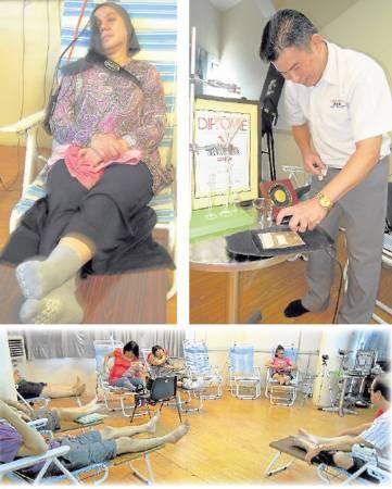 《尤祖億治疗中心》每天都有不少病患前来求医。