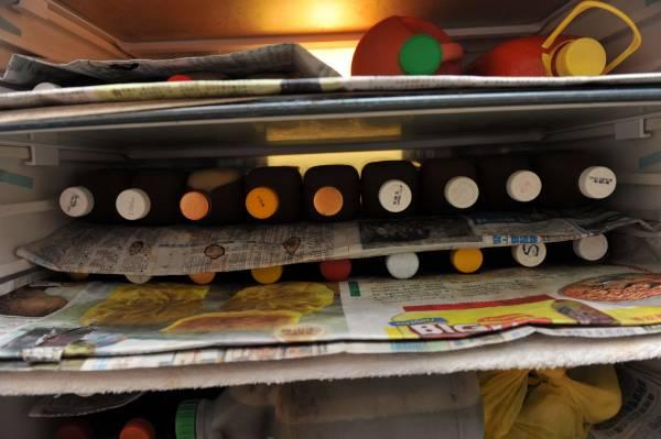 桦姐家里冰箱装满了一瓶瓶救人的药汤