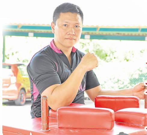 充满信心的萧汉铭,随时做好准备,等你来挑战!