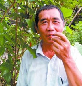 杨先生大方与大家分享治好他肾结石的救命草药。