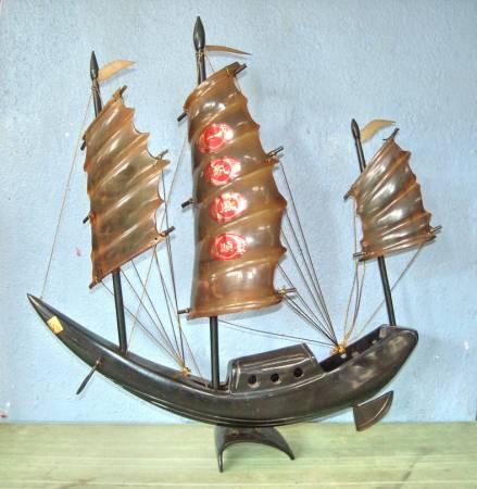 """:想要猴年运势更胜人一筹,那不妨把""""一帆风顺发财船""""请回家,帆船会把好运载来你家哦!"""