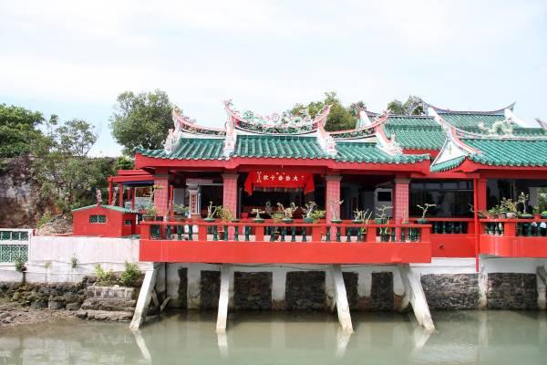 新加坡龟屿岛大伯公