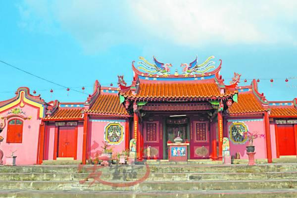 海东妈庵是威省区第一个华人庙宇旅游胜地!