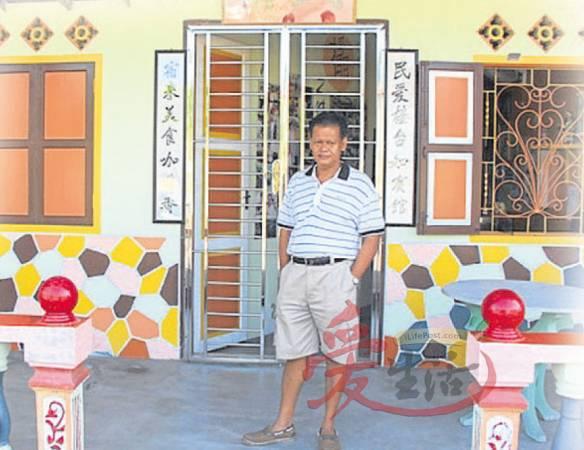 蔡进福亲力亲为,一手包办民宿的设计工作。