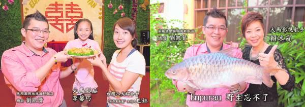 大马之光李馨巧、台湾八大综合主持人巴钰及大马影视歌手赖冰。