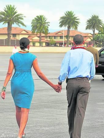 美国总统奥巴马:半边臀外突▲人生多挫折