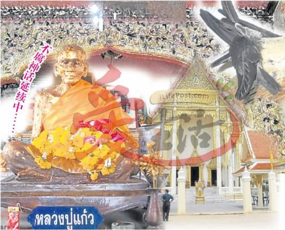 泰国高僧龙甫郊当年好心收留落难的燕子,如今龙甫郊已圆寂,但其不腐金身仍供奉在寺庙内,而这些燕子似乎为了报恩,多年来不断的筑燕窝,为寺庙带来庞大的收入。