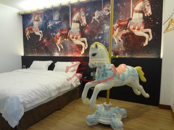 精品酒店内的装饰都是由业主魏愛眉精心打造。