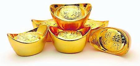 在五黄凶位上摆上九个金元宝,即可逢凶化吉。