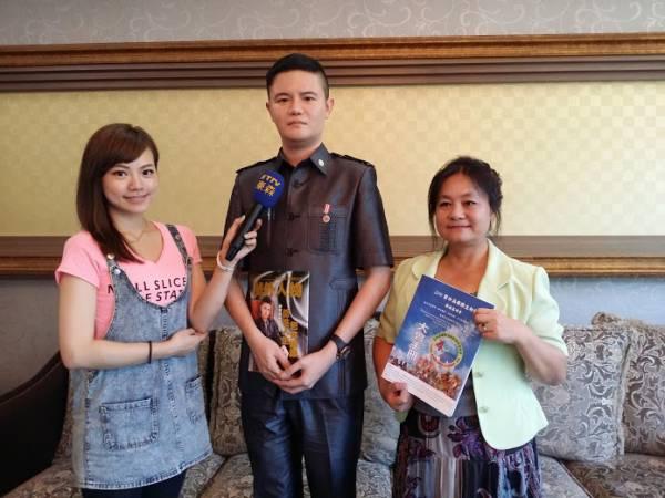 拿督吴承澔医生的研发成就受到台湾媒体争相报道。