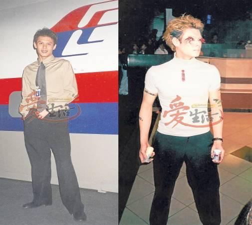 车祸前的蔡志远高大俊俏,曾当过空服员及余业模特儿。