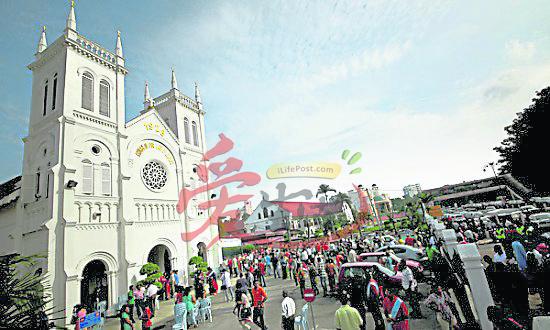 以哥德式砖石结构的露德聖母天主堂,留下不少历史痕迹。 露德聖母天主堂 地址:No. 114, Jalan Tengku Kelana, 41000, Klang, Selangor.电话: 03-3371 3053