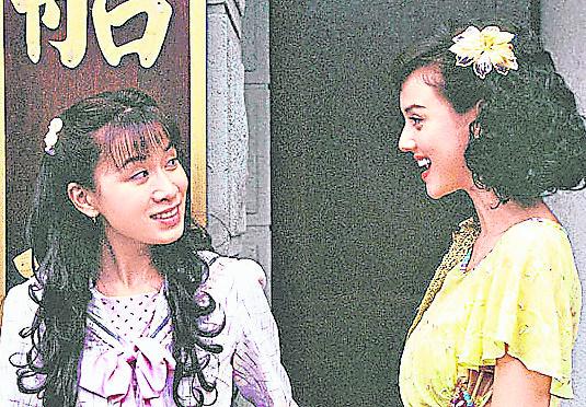 《西关大少》里, 韩君婷与佘诗曼演对手戏,美貌一点都不差。
