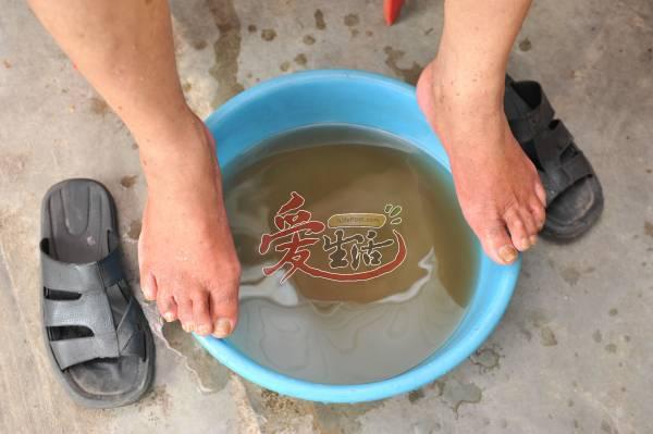 泡久了,水色开始变得浑浊,那是排出来的毒素。