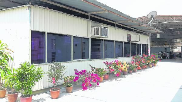 恩惠爱老院将货柜改造成老人的安乐窝。
