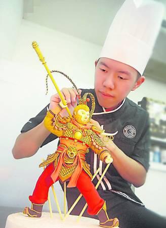 中国著名神话人齐天大圣孙悟空,也是Ryan得意作品之一。