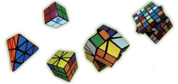 因为魔方大热,市面上再推出各种类型的魔方,吸引魔方爱好者的热烈挑战。