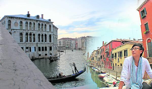 沿着运河顺流而下,欣赏水滨豪华宅邸、宫殿和教堂,感觉就像身处美丽画卷中。