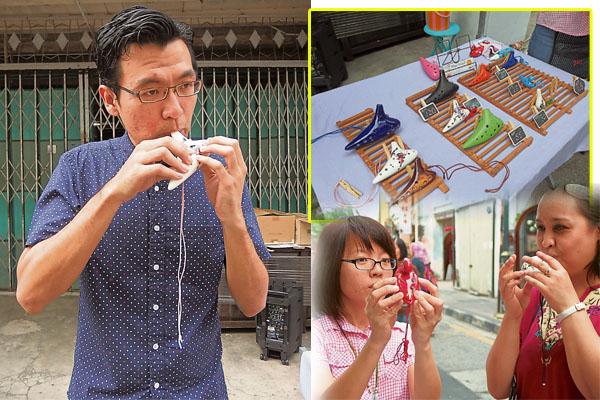 形形色色的陶笛,除了可以陶冶人心,还可以摆在家里可以当作装饰品。