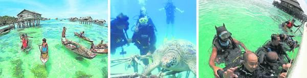 背包民宿随时准备就绪迎接喜爱潜水者的到来。