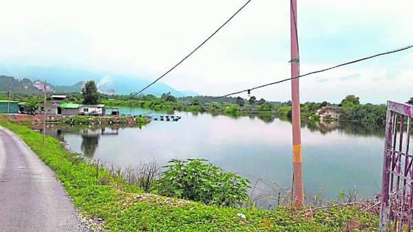拉湾古打风景如画,所以被称喻为小桂林。