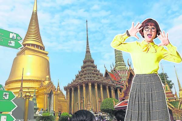 大皇宫是泰国诸多王宫之一,是历代王宫保存最完美、规模最大、最有民族特色的王宫。