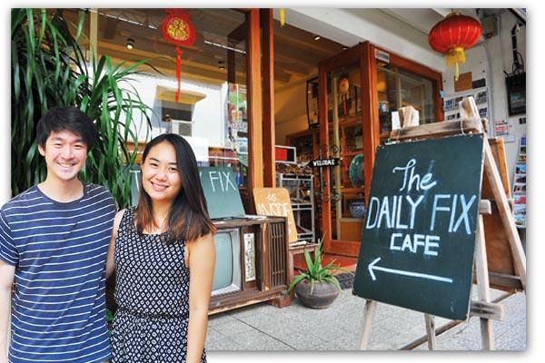 Julian和Soo放弃澳洲的高职厚薪,回到家乡马六甲创业。