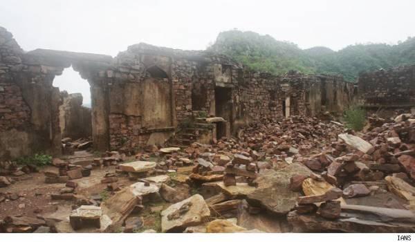 斑嘎城堡在三百多年前早已荒废。