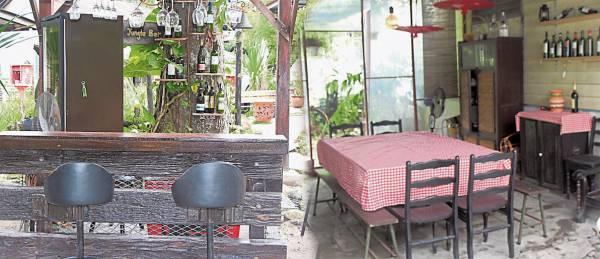 复古厨房/小酒廊