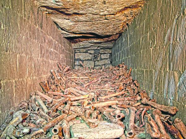 据悉地下墓穴也是很多法国名人最后的安栖之地,但由于早期人们都是把人骨随意的扔进洞里,所以也无法找出他们的遗骸了。