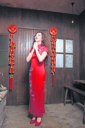 因为一路走来的贵人相助,让江梦蕾心存感激。